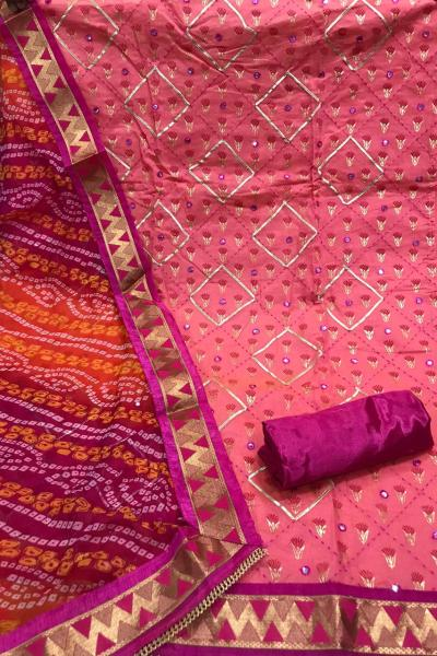 pink-chanderi-with-gota-work-salwar-dress-with-bandhni-dupatta