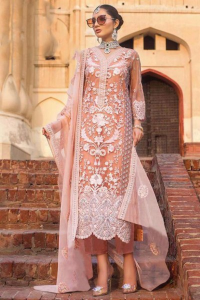 adorable-orange-color-heavy-net-with-embroidery-work-sequence-stone-suit