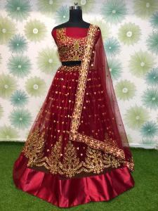elegant-maroon-heavy-mono-net-exclusive-wedding-wear-lehenga-choli (2)