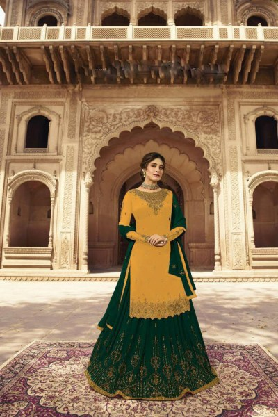 fiona-standard-yellow-green-georgette-with-embroidery-work-lehenga-salwar-suit