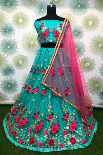 vibrant-sky-blue-color-heavy-net-exclusive-wedding-wear-lehenga-choli
