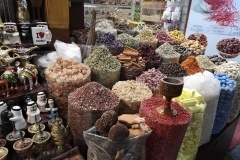 Image of Dubai Spice Market in UAE with variety of spices from all around the world in one place