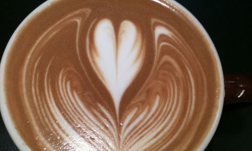 How to make the Winged Heart coffee