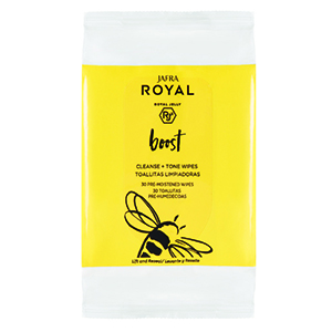 Royal Boost Cleanse Tone Wipes