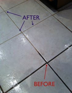 Tile Cleaning   Grout Cleaning   Royal Carpet   Duct Cleaning Before tile cleaning vs  After tile cleaning