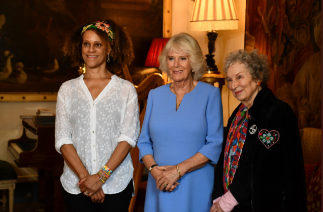 Camilla champions women writers on a literary day in London