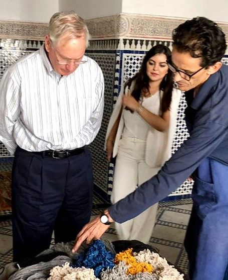 Focus on the 'forgotten' royals: The Duke of Gloucester visits Morocco