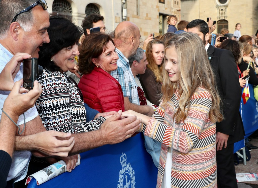 Princess Leonor given first official welcome to her principality of Asturias