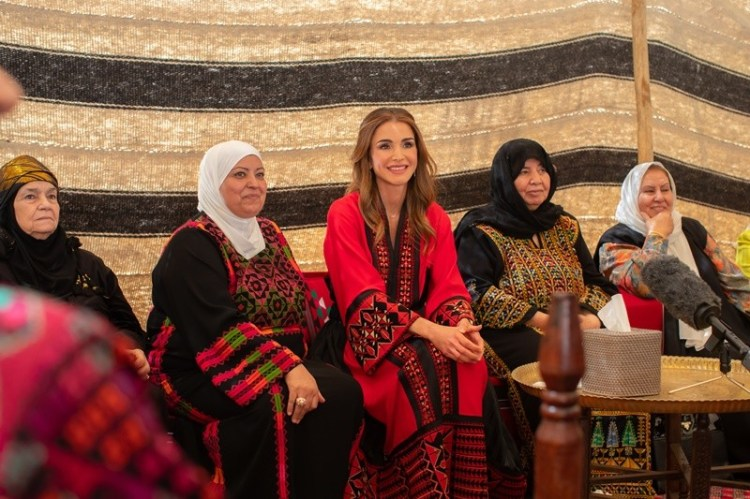 ICYMI: Queen Rania meets with women from Abbadi tribe