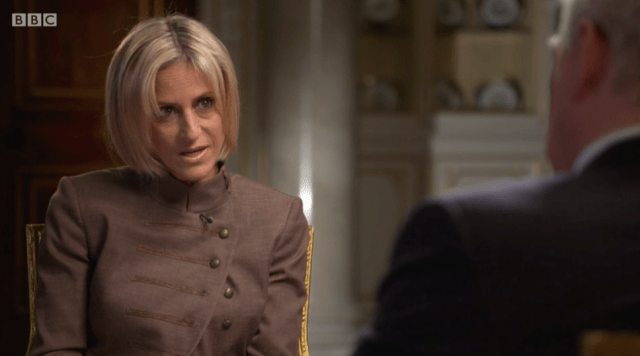 "Emily Maitlis speaks out about her ""extraordinarily raw & uncomfortable"" interview with Prince Andrew"