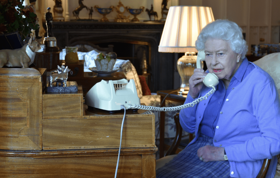 Five stand out moments in The Queen's historic phone call photo