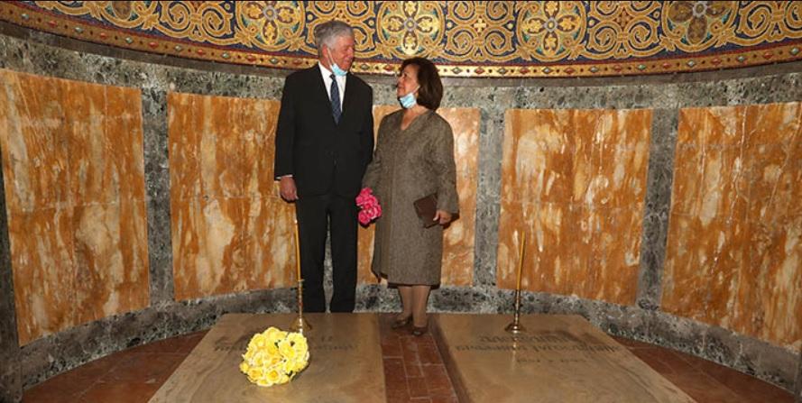Crown Prince Alexander and Crown Princess Katherine of Serbia