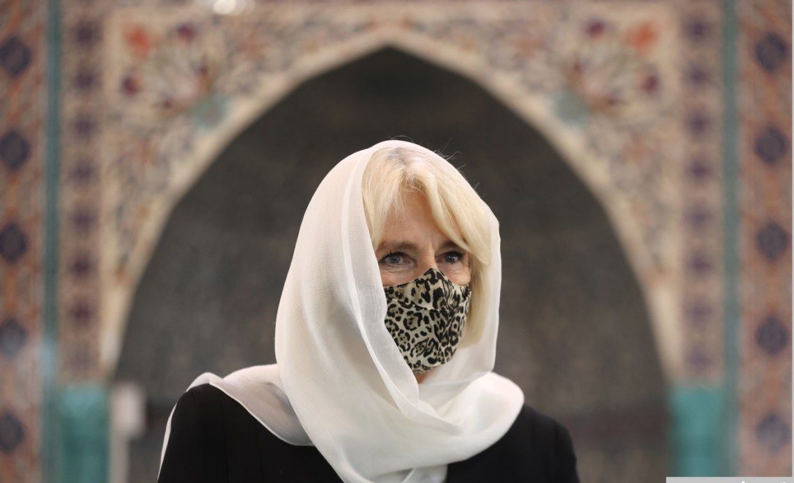 The Duchess of Cornwall at Wightman Road Mosque