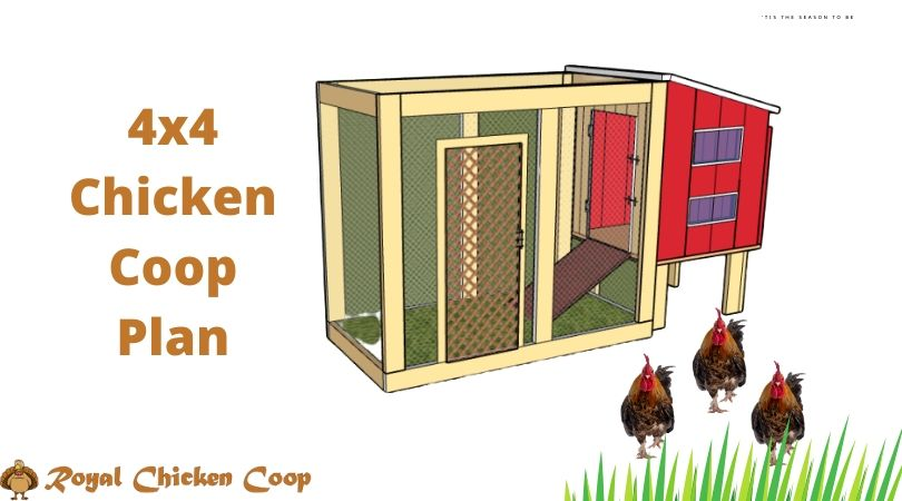 4x4 Chicken Coop Plan