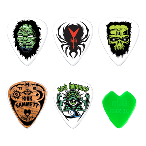 Halloween-themed guitar picks