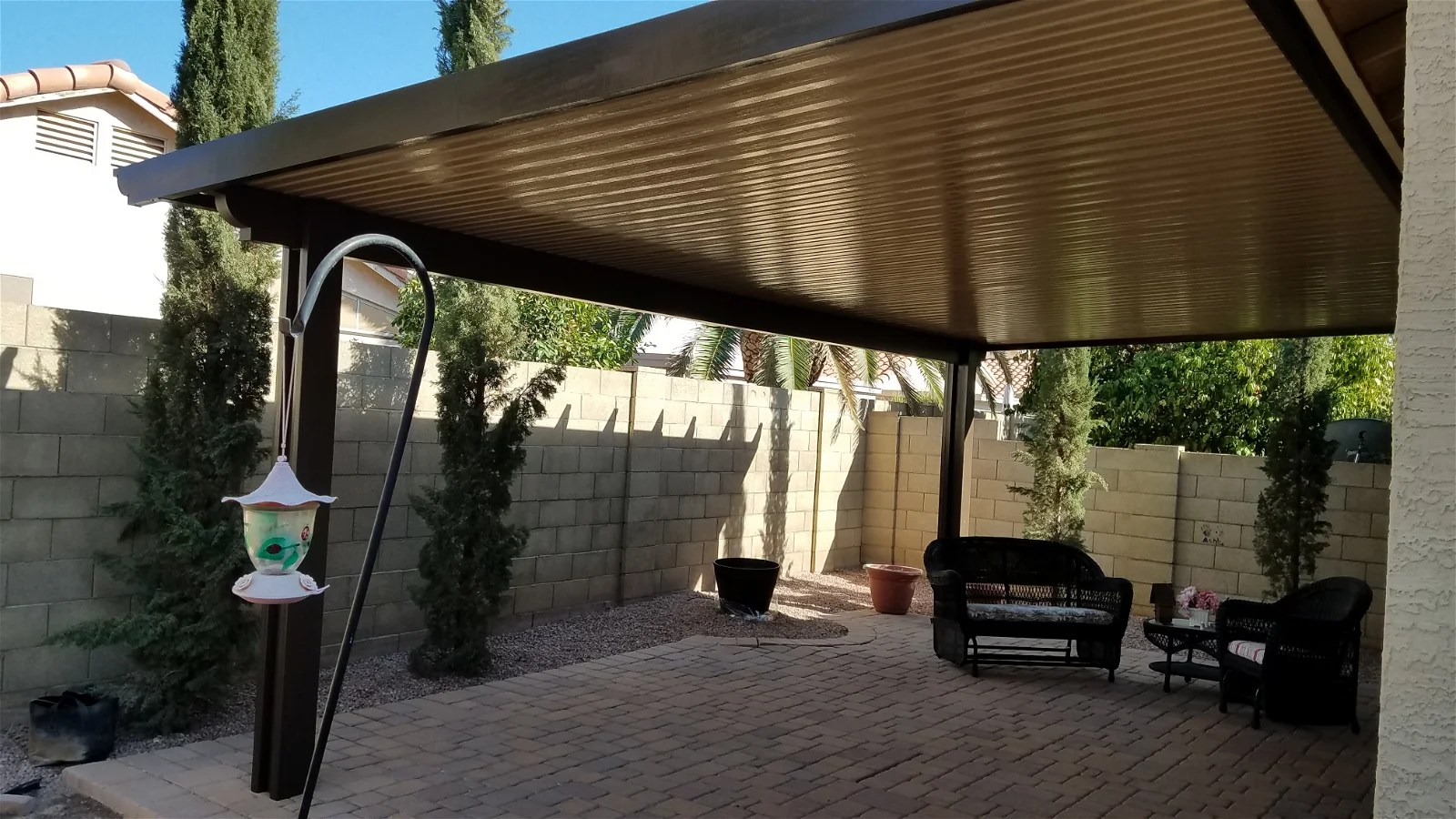 alumawood patio cover pergola phoenix