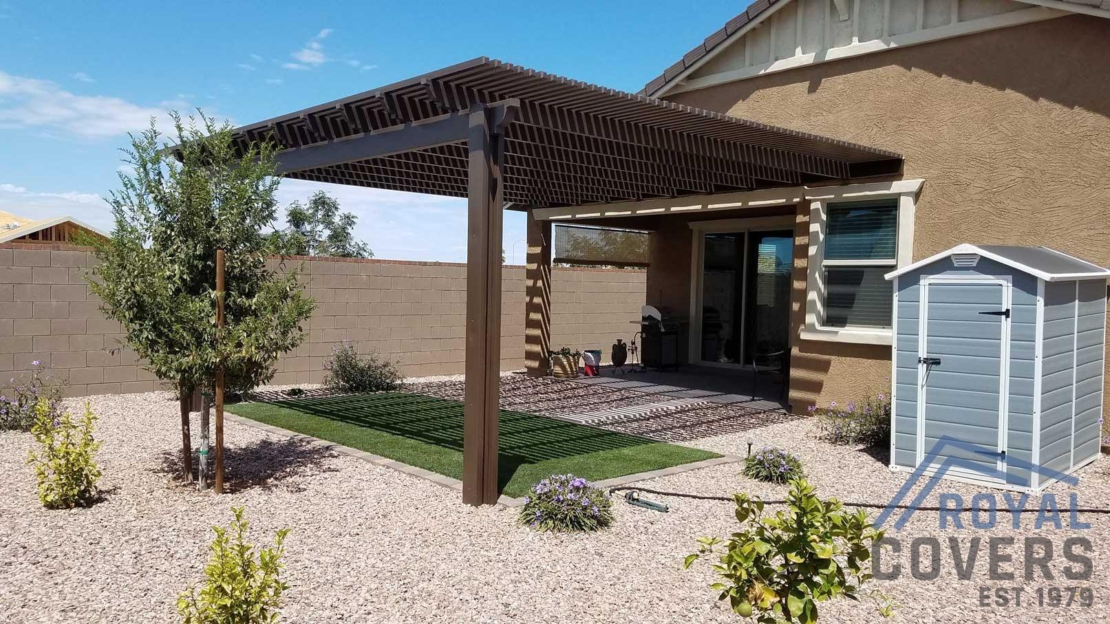Backyard Patio Extension - Mesa AZ 85205 - Royal Covers on Backyard Patio Extension Ideas id=17909
