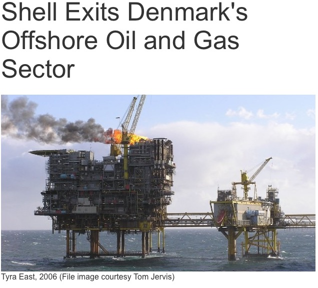 Shell Exits Denmark's Offshore Oil and Gas Sector – Royal Dutch
