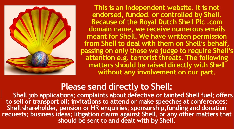 Contact Us – Royal Dutch Shell Group  com