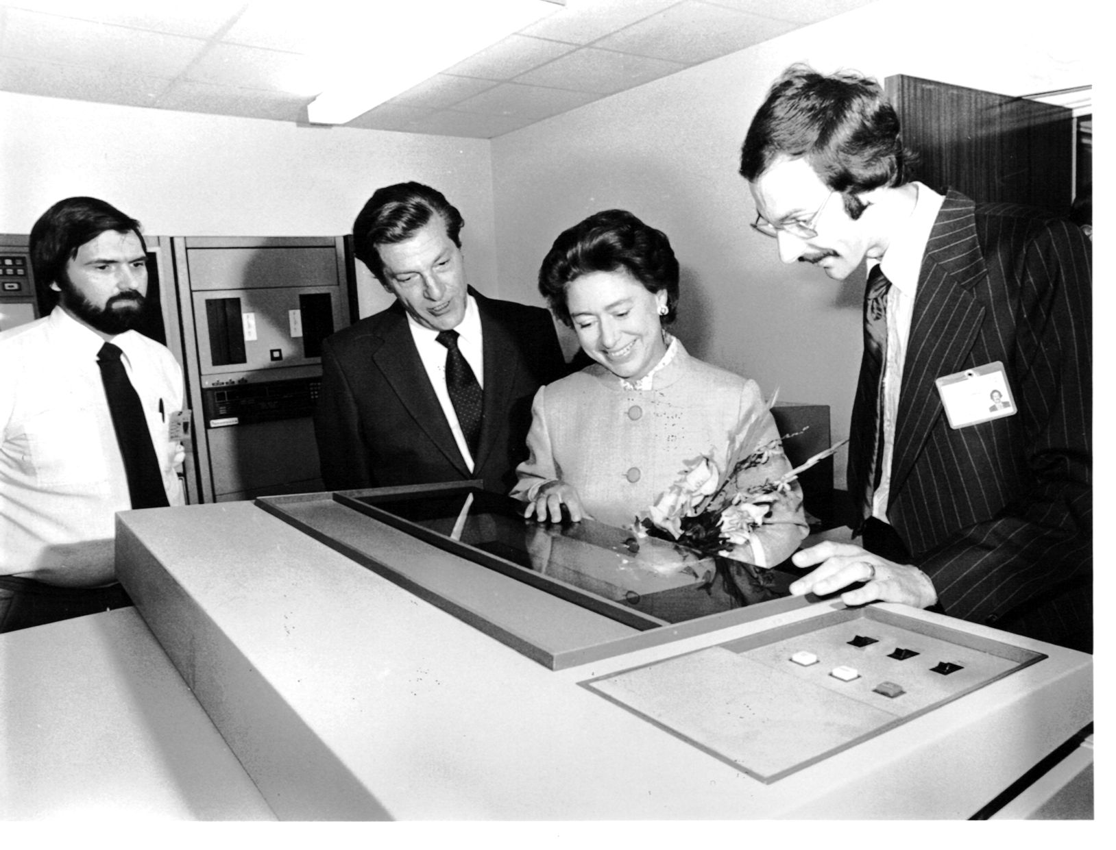 Exhibition Stand Wikipedia : Hrh princess margaret opens rochford thompson new premises