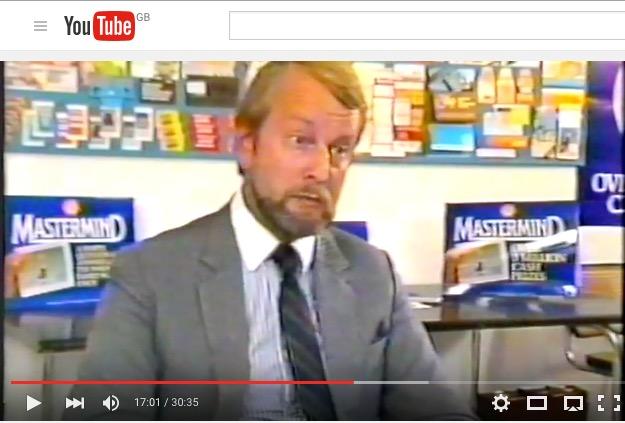 John Chambers, Managing Director of Don Marketing, 1984
