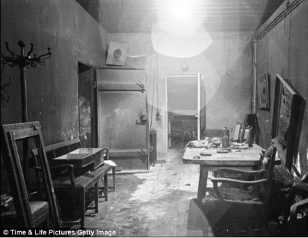 Hilter and wife Eva Braun killed themselves in his Berlin bunker on April 30 1945
