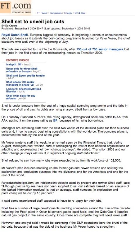 Shell Insider Information Leaks to John Donovan | Royal