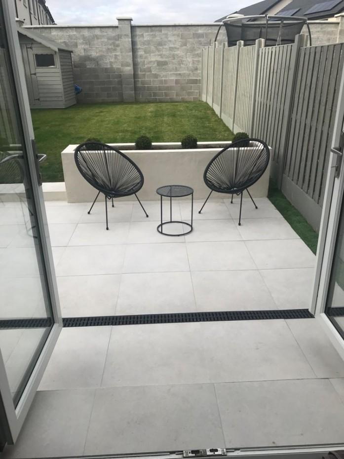 luna white indoor floor tile 600x600 mm