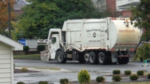Will trash collection trucks here eventually carry a private company name, rather than the Town of Front Royal's? A vote scheduled for Dec. 12 on the purchase of a more-efficient, rear-loader might indicate a Council majority's intention.