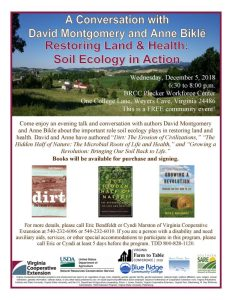 2018 Virginia Farm to Table Conference: FREE Community Event! @ BRCC Plecker Workforce Center Auditorium