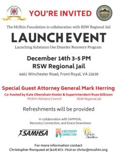 Recovery Program Launch @ RSW Regional Jail