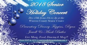 2018 Senior Holiday Concert @ Warren County Senior Center
