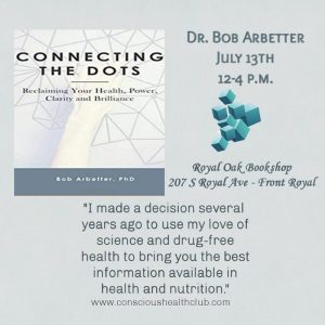 Book Signing with Dr. Bob Arbetter @ Royal Oak Bookshop