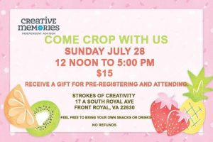 Crop With Us @ Strokes of Creativity