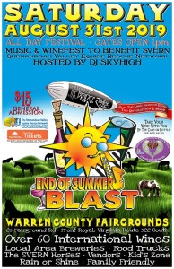 DJ Skyhigh's End of Summer Blast @ Warren County Fair