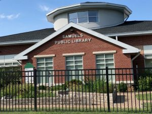Day of Giving @ Samuels Public Library