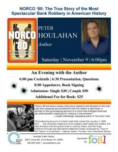 Norco '80 book signing and library fundraiser @ Samuels Public Library