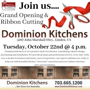 Dominion Kitchens Grand Opening @ Dominion Kitchens
