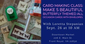 Card Making Class @ Downtown Market
