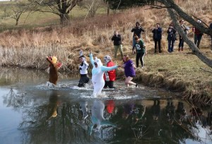 HSWC Polar Plunge @ Culpeper Lake at the 4-H Center