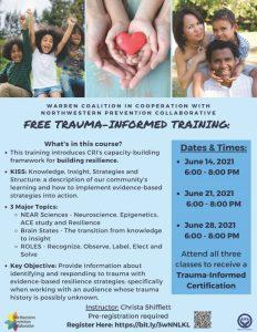 FREE Trauma-Informed Training @ ONLINE