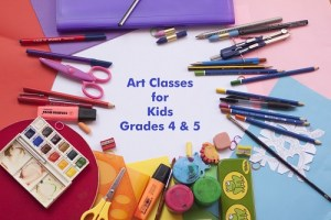 Art Class for 4th & 5th @ Strokes of Creativity