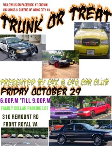 Trunk or Treat @ Family Dollar Parking Lot