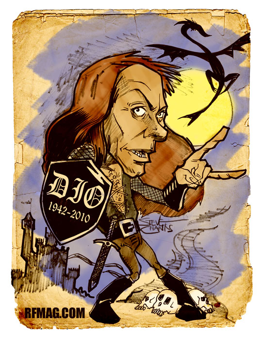 Ronnie James Dio RIP