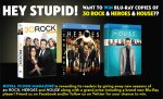 30 Rock – Heroes – House Giveaway!