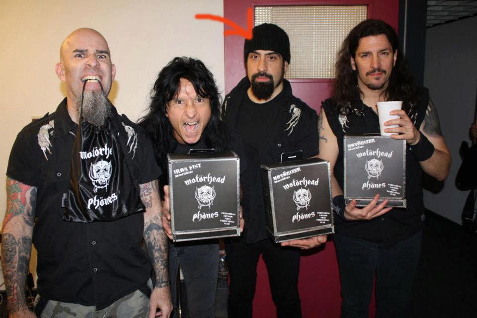 Rob Caggiano Of Anthrax Quits The Band Royal Flush Magazine