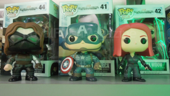 Funko Pop Vinyl Toy - Captain America (Toy Fair 2014)