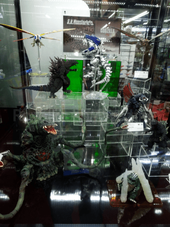 Tamashii Nations - Godzilla Figures (Toy Fair 2014)