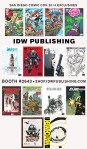 IDW SDCC 2014 Exclusives
