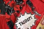 February 2016 Dead Unboxing: Marvel Deadpool Tacos T-Shirt